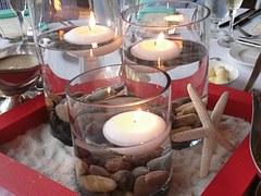 glass candle lightings